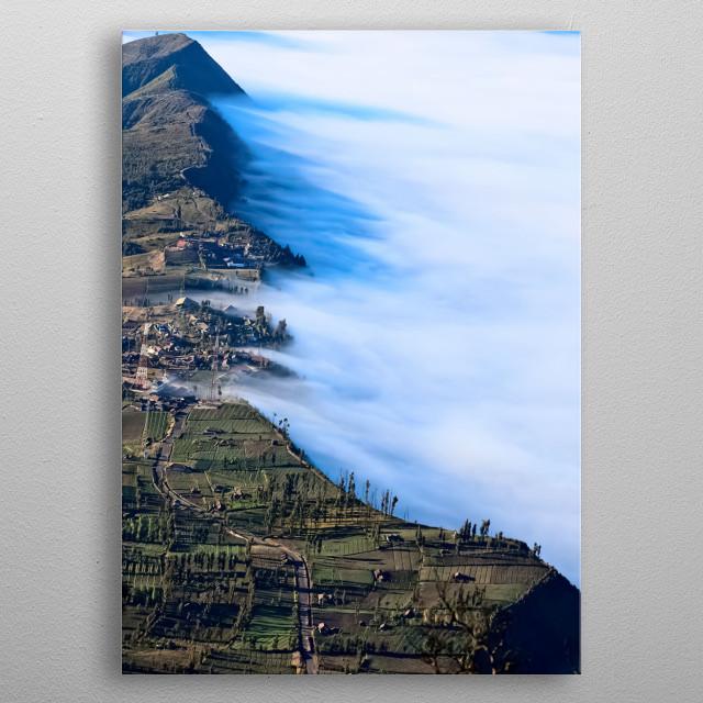 Mountain 126 metal poster