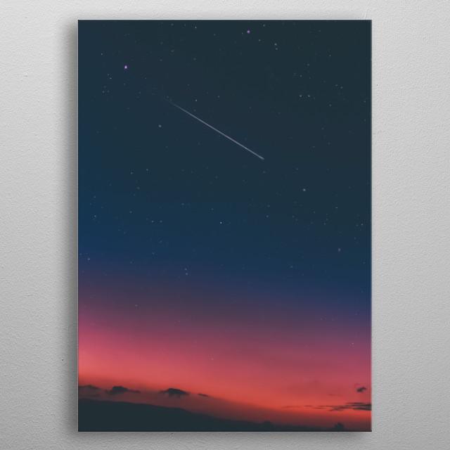 Stars 46 metal poster