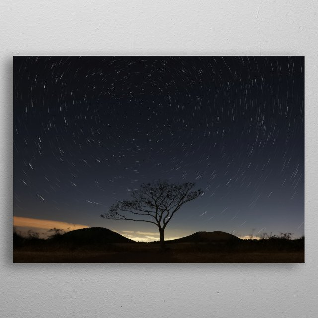 High-quality metal print from amazing Stars collection will bring unique style to your space and will show off your personality. metal poster