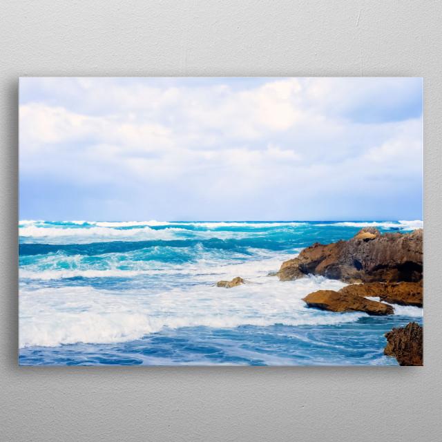 Water Landscape 195 metal poster