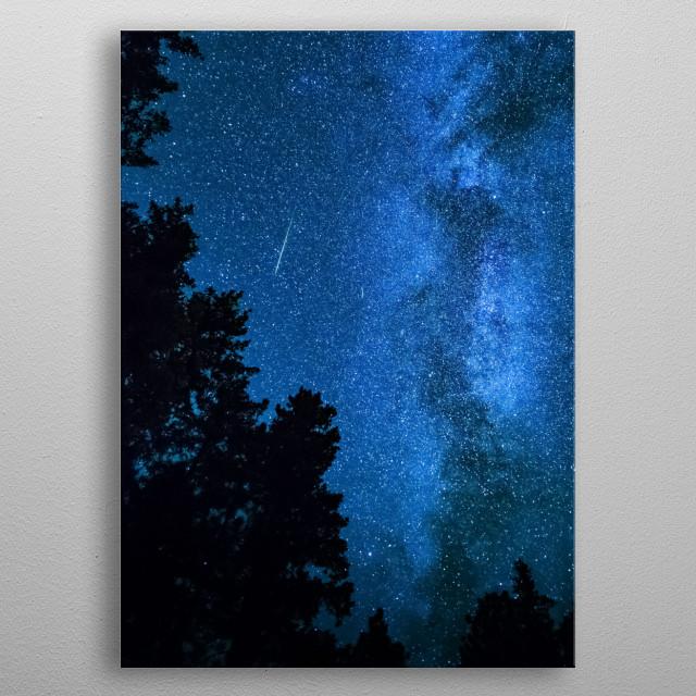 Stars 239 metal poster