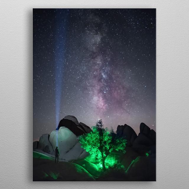 Stars 294 metal poster