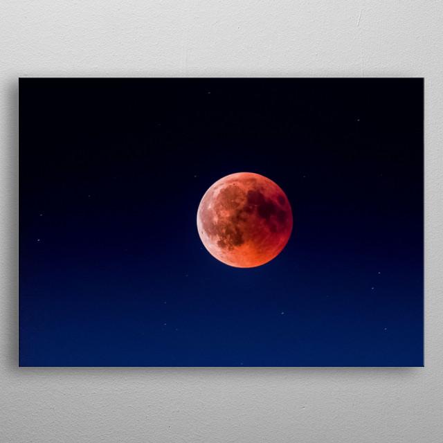 Moon 31 metal poster