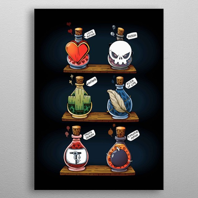 High-quality metal print from amazing Cute collection will bring unique style to your space and will show off your personality. metal poster