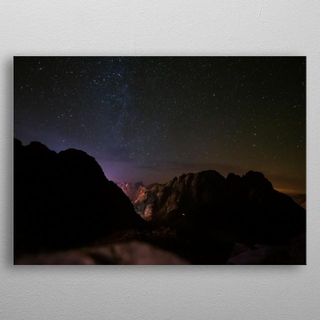 Stars 167 metal poster