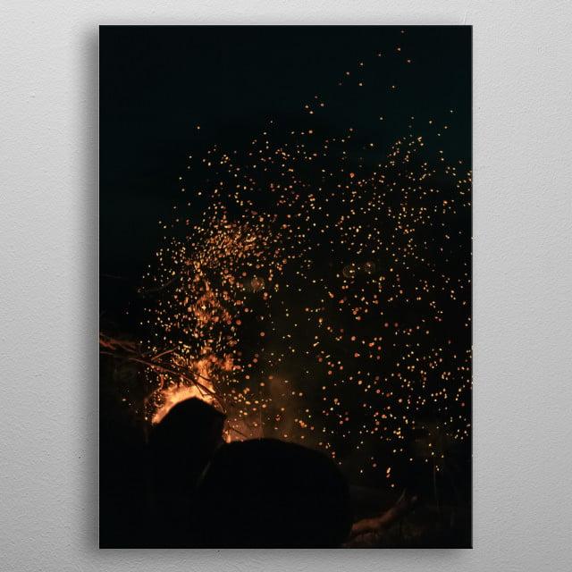 Fire 31 metal poster