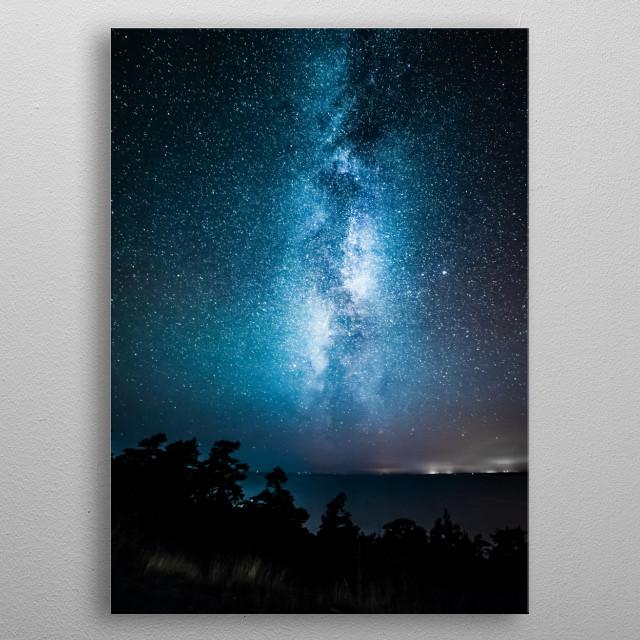 Stars 160 metal poster