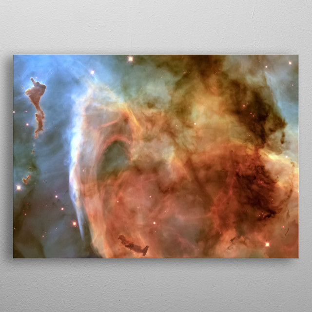 Space 51 metal poster