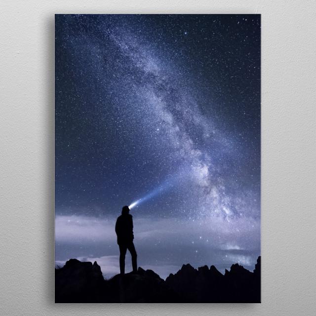 Stars 162 metal poster
