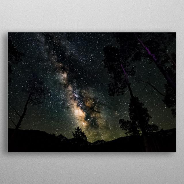 Stars 321 metal poster