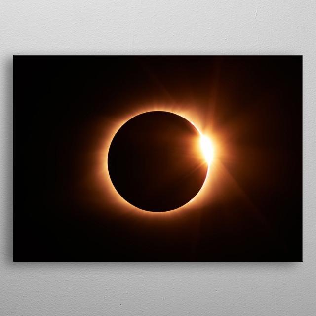 Moon 35 metal poster