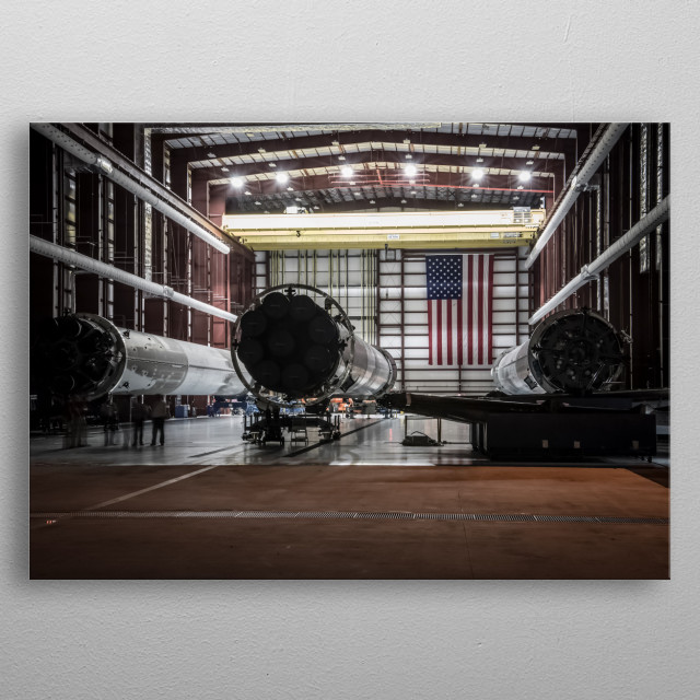 Space 21 metal poster