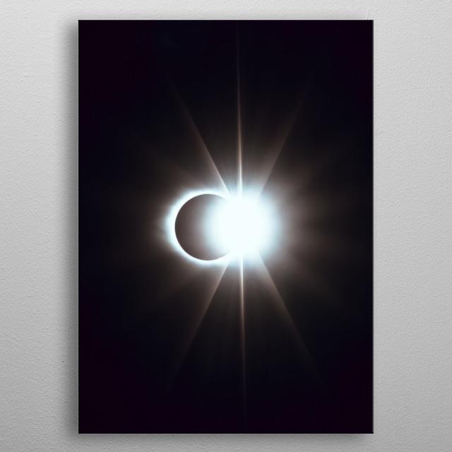 Moon 26 metal poster