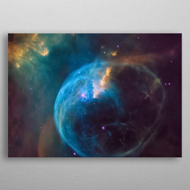 Galaxy 5 metal poster