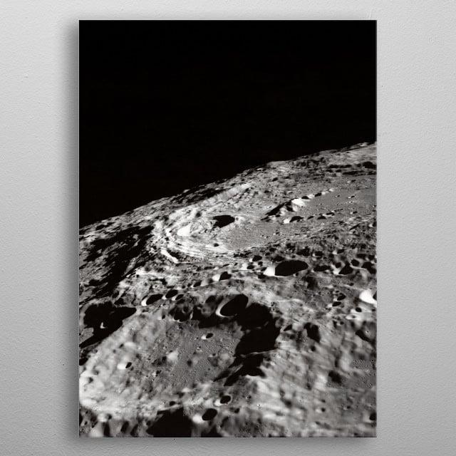 Space 22 metal poster