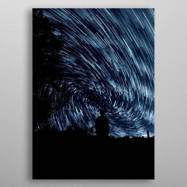 Stars 313 metal poster