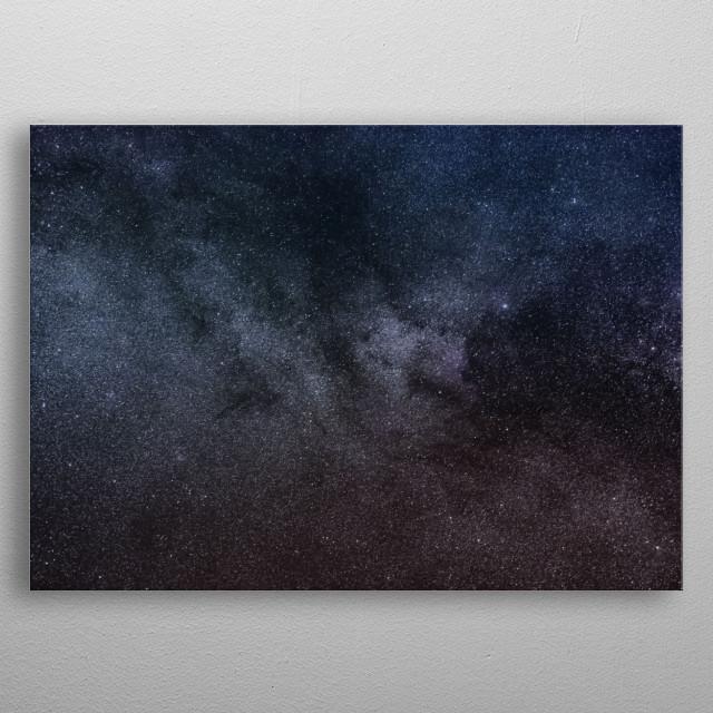 Stars 146 metal poster