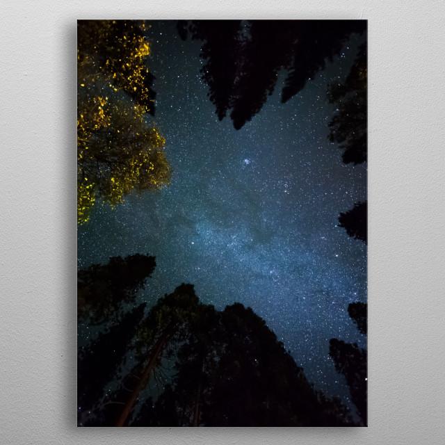 Stars 317 metal poster