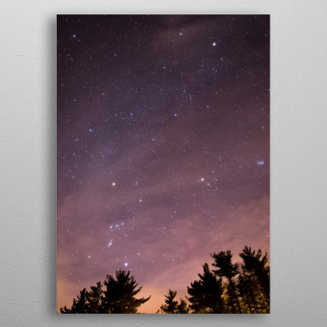 Stars 242 metal poster