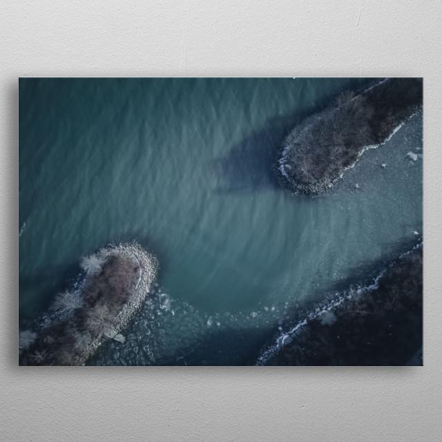 Water Landscape 224 metal poster