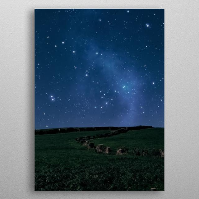 Stars 54 metal poster