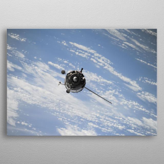 Space 8 metal poster