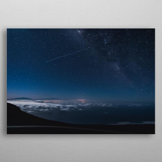 Stars 120 metal poster