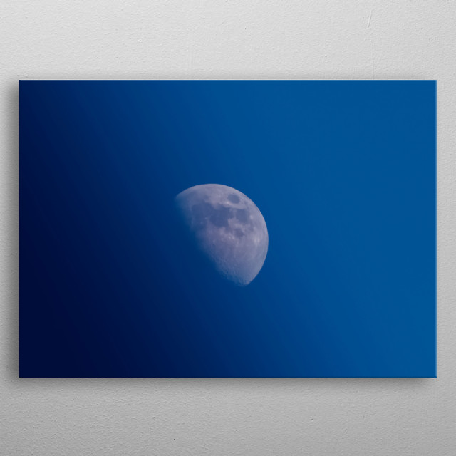 Moon 97 metal poster