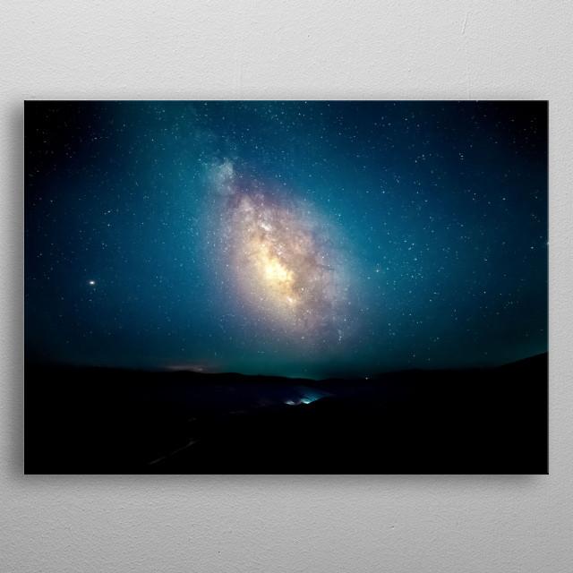 Stars 238 metal poster