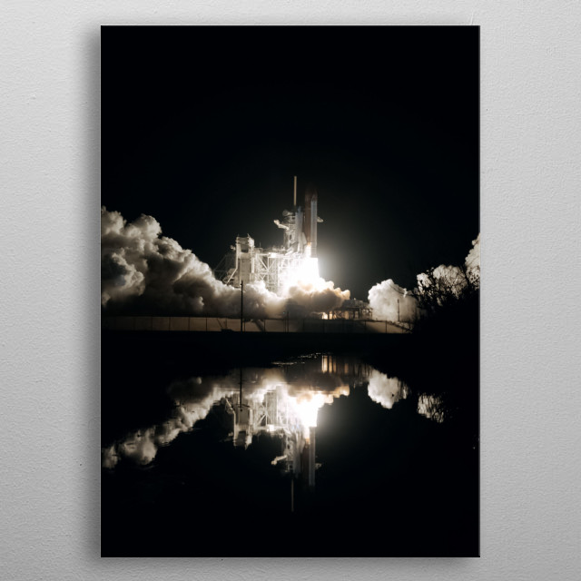 Space 26 metal poster