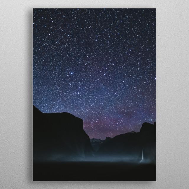 Stars 192 metal poster