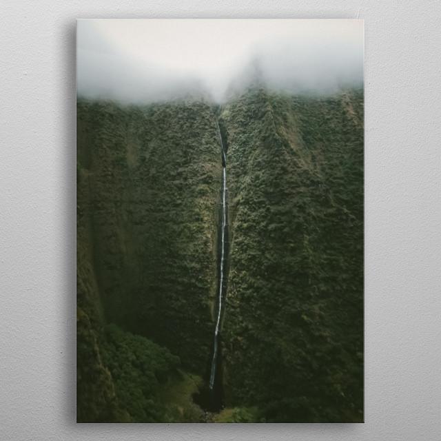 Water Landscape 156 metal poster
