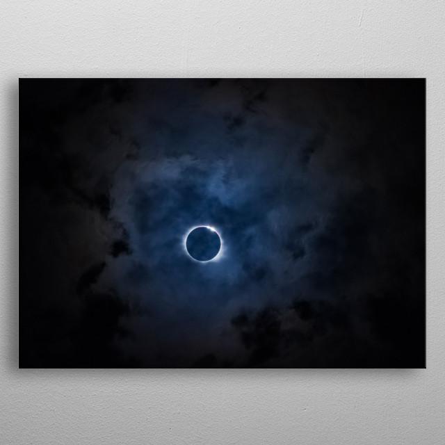 Moon 62 metal poster