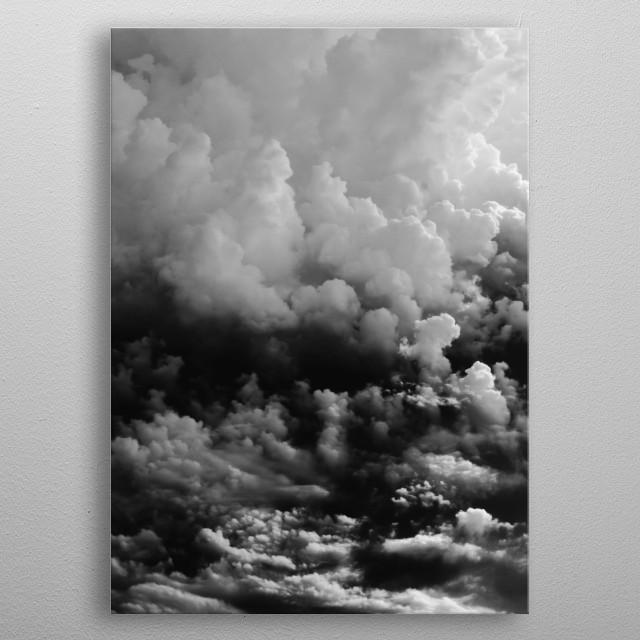 Cloud 3 metal poster