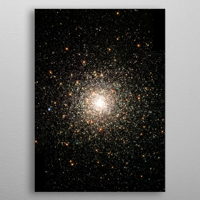 Space 31 metal poster