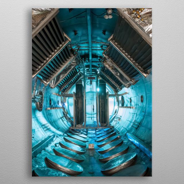 Space 11 metal poster