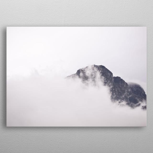 Cloud 1 metal poster