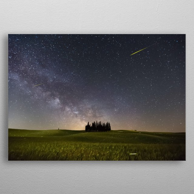 Stars 252 metal poster