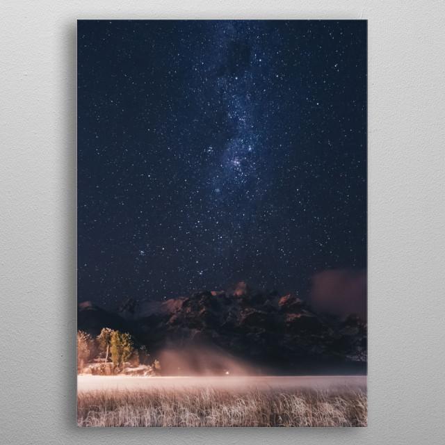 Stars 326 metal poster