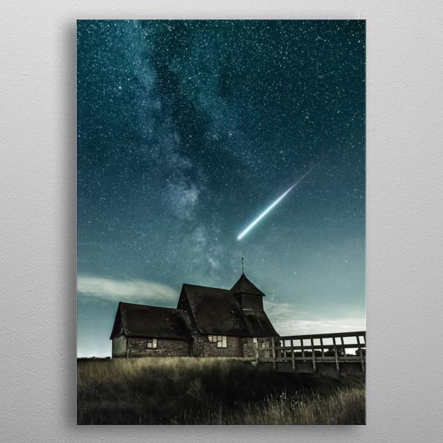 Stars 9 metal poster