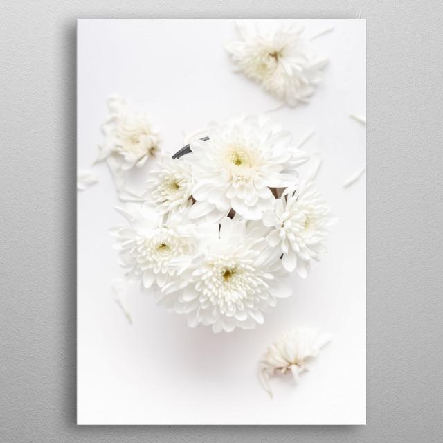 Flowers 33 metal poster