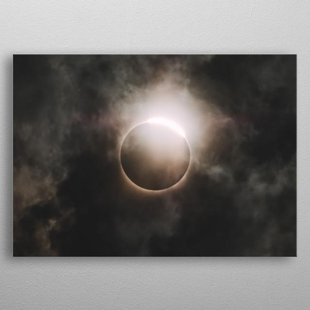 Moon 89 metal poster