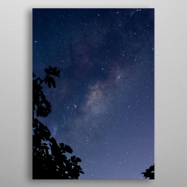 Stars 142 metal poster