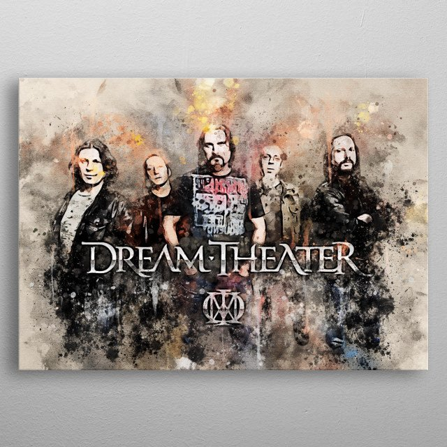 Dream Theater is one of the most prominent progressive metal groups in the world today metal poster