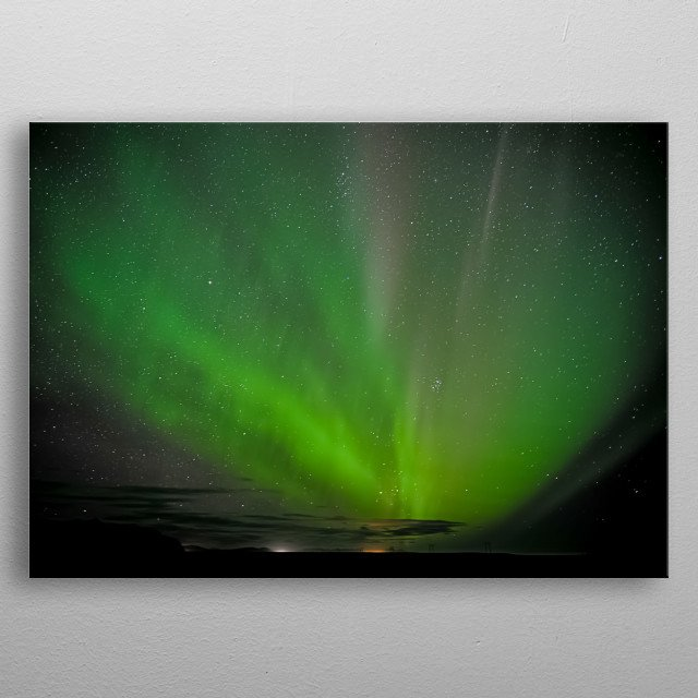 This marvelous metal poster designed by Jenny-B to add authenticity to your place. Display your passion to the whole world. metal poster