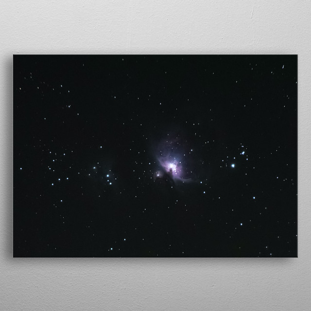Stars 271 metal poster