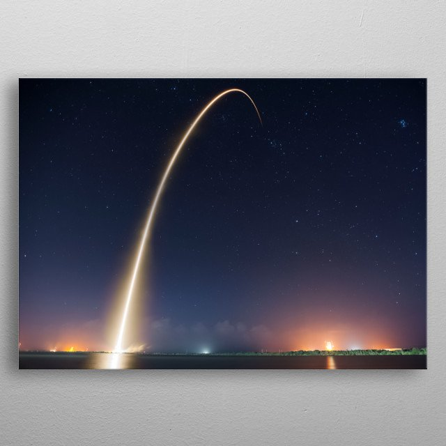 Space 43 metal poster