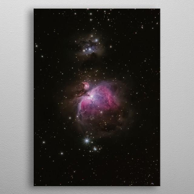 Galaxy 3 metal poster