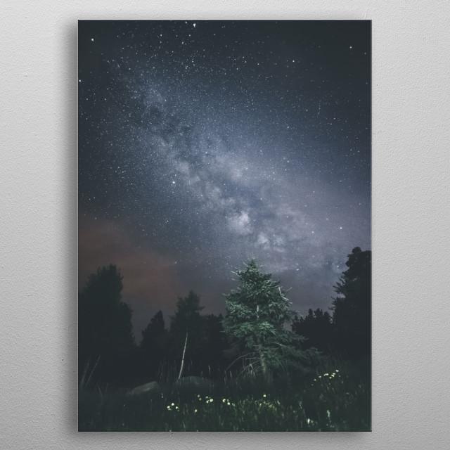 Stars 218 metal poster