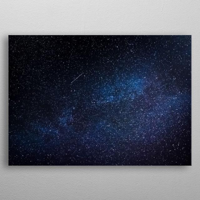 Stars 224 metal poster
